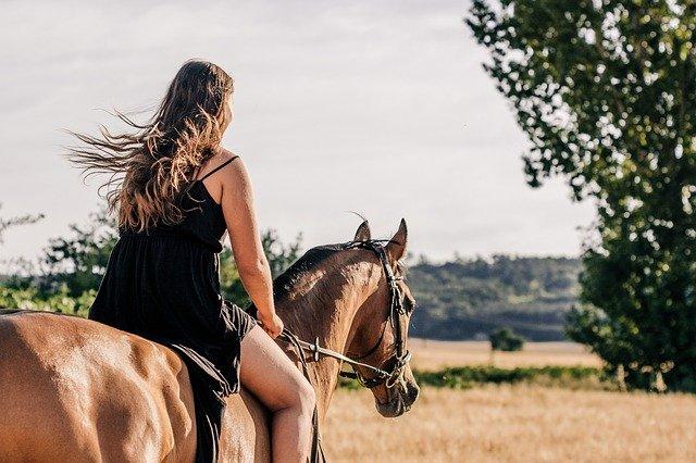 Passeggiata a cavallo nella campagna senese