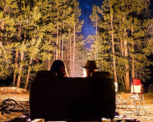 Notte in yurta con cena a bivacco sotto le stelle